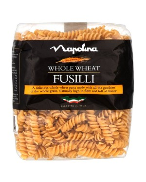 M3 Distribution Services Wholesale Food Napolina Whole Wheat Fusilli (Twists) 500g