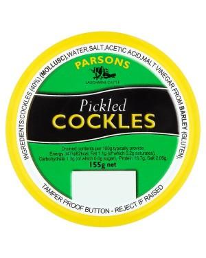 M3 Distribution Bulk Irish Wholesale Food Parsons Pickled Cockles 155g
