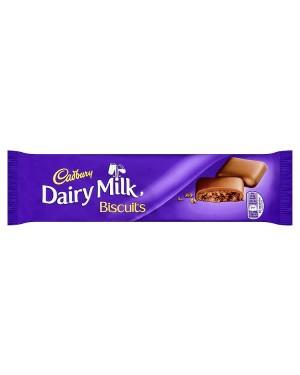 M3 Distribution Services Irish Food Wholesaler Cadbury Dairy Milk Biscuits 110g
