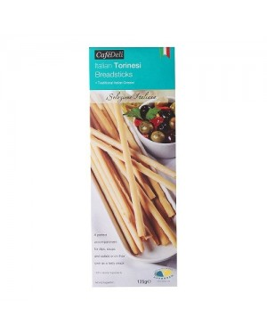 M3 Distribution Services Irish Food Wholesale Cafe Deli Torinesi Breadsticks 125g