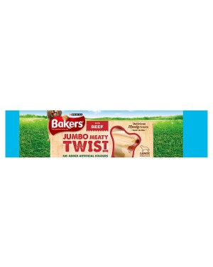 M3 Distribution Services Wholesale Irish Food Bakers Jumbo Meaty Twist with Beef 200g