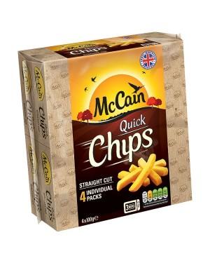 M3 Distribution Services Irish Food Wholesaler McCain Quick Chips GF (12x4x100g)
