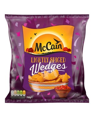 M3 Distribution Services Irish Food Wholesaler McCain Lightly Spiced Wedges (16x750g)