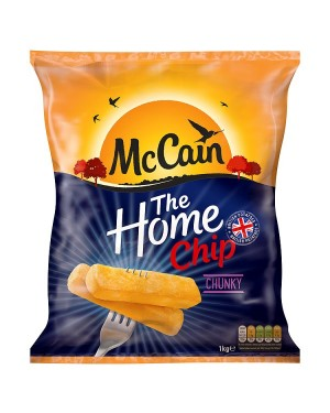 M3 Distribution Services Irish Food Wholesaler McCain Home Chips Chunky (12x1Kg)