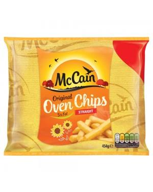 M3 Distribution Services Irish Food Wholesale McCain Straight Cut Oven Chips 454g PMÃ'Ãâ€Å