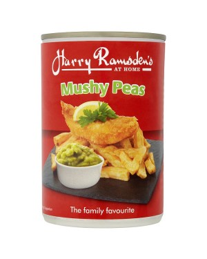 M3 Distribution Services Bulk Food Ireland Harry Ramsdens Mushy Peas 300g