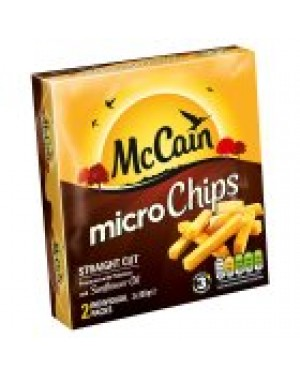 M3 Distribution Services Irish Food Wholesaler McCain Quick Chips GF PM£1.09 (12x200g)