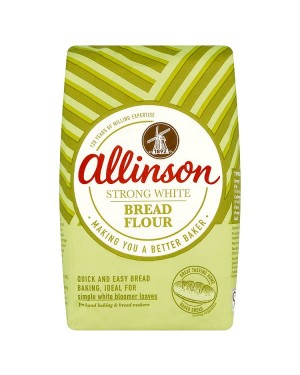 M3 Distribution Services Bulk Irish Wholesale Allinson Strong White Bread Flour 1.5Kg