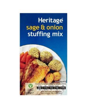 M3 Distribution Services Bulk Irish Wholesale Heritage Sage & Onion Stuffing Mix 85g