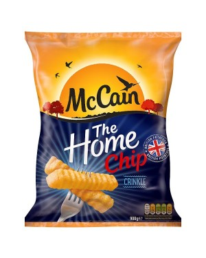 M3 Distribution Services Irish Food Wholesale McCain Crinkle Cut Home Chips 900g