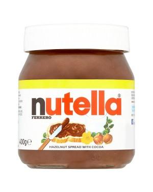 M3 Distribution Services Irish Food Wholesaler Nutella Chocolate Spread PM£2.69 (15x400g)