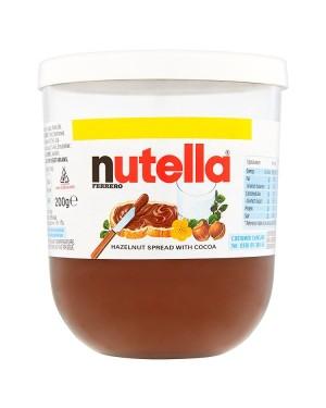 M3 Distribution Services Irish Food Wholesaler Nutella Chocolate Spread PM£1.59 (6x200g)
