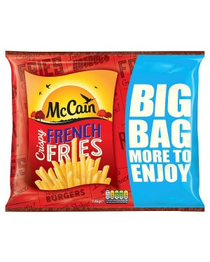 M3 Distribution Services Irish Food Wholesale McCain French Fries 1.4Kg