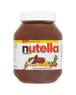 M3 Distribution Services Irish Food Wholesaler Nutella Jar (6x1Kg)