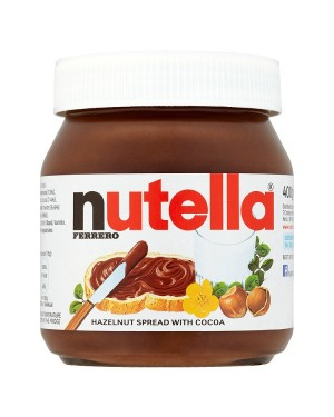 M3 Distribution Bulk Irish Wholesale Nutella Hazelnut Chocolate Spread 400g
