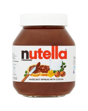 M3 Distribution Bulk Irish Wholesale Nutella Hazelnut Chocolate Spread 750g