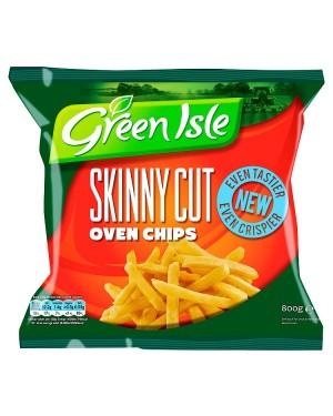 M3 Distribution Services Irish Food Wholesaler Green Isle Skinny Oven Chips (16x800g)