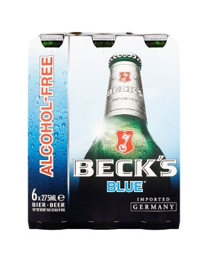 M3 Distribution Services Irish Wholesale Becks Blue Alcohol Free (6x275ml)