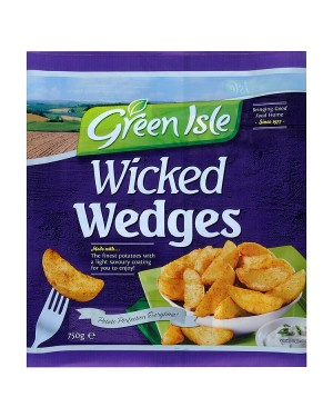 M3 Distribution Services Irish Food Wholesaler Green Isle Wicked Wedges (16x750g)