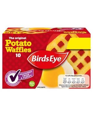 M3 Distribution Services Irish Food Wholesaler Birds Eye Potato Waffles NON PM (10x567g)