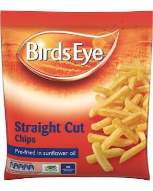 M3 Distribution Services Irish Food Wholesaler Birds Eye Straight Cut Fry Chip (6x2Kg)