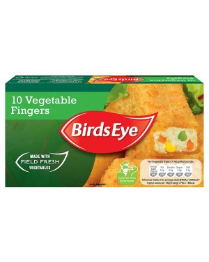 M3 Distribution Services Irish Food Wholesaler Birds Eye 10 Vegetable Fingers (12x10pack)