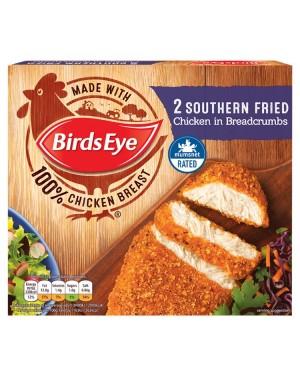 M3 Distribution Services Irish Food Wholesaler Birds Eye 2 Southern Fried Chicken (12x180g)