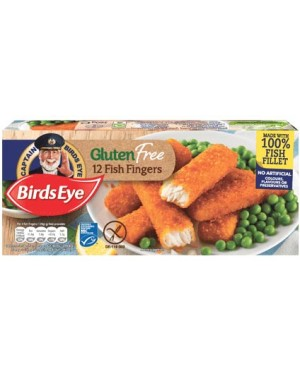 Birds Eye 12Pk Gluten Free Fish Fingers (12x360G)