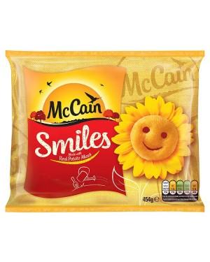 M3 Distribution Services Irish Food Wholesaler McCain Potato Smiles GF (15x454g)