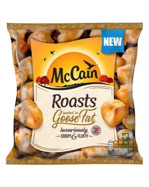 M3 Distribution Services Irish Food Wholesale McCain Goose Fat Roast Potatoes 700g