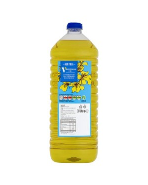 M3 Distribution Services Wholesale Food Heritage Vegetable Oil 3Litre