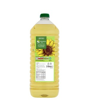 M3 Distribution Services Wholesale Food Heritage Sunflower Oil 3Litre