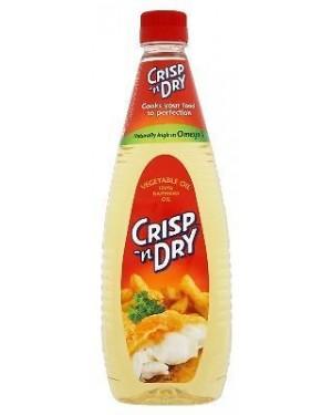M3 Distribution Services Irish Food Wholesaler Crisp N Dry Veg Oil PM£1.99 (15x1Litre)