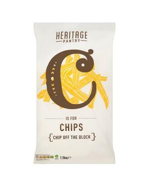 M3 Distribution Services Irish Food Wholesale Heritage Pantry Chips 1.5KG