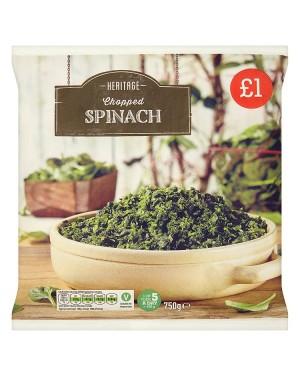 M3 Distribution Services Irish Food Wholesale Heritage Chopped Spinach PMÃ'ÂÃÆâ
