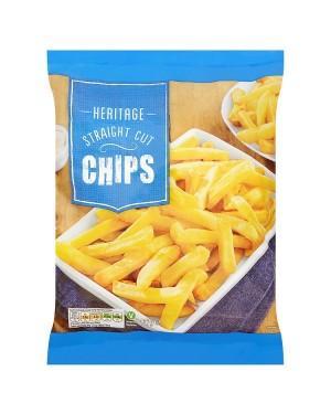 M3 Distribution Services Irish Food Wholesaler Heritage Straight Cut Chips (12x907g)