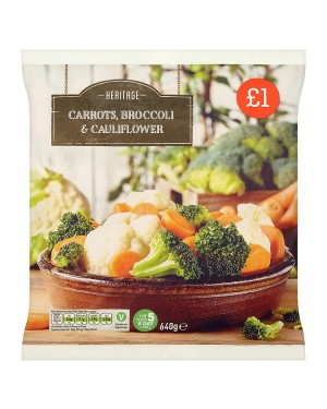 M3 Distribution Heritage Broccoli, Cauliflower and Carrot PMÃ'ÂÃâ€