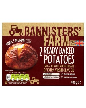 M3 Distribution Bannisters' Farm 2 Ready Baked Potatoes