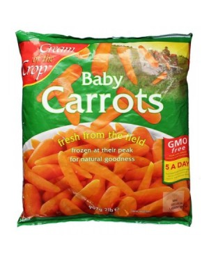 M3 Distribution Services Irish Food Wholesaler Cream of the Crop Whole Baby Carrots (12x907g)