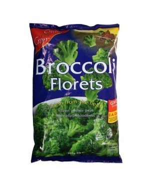 M3 Distribution Services Irish Food Wholesaler Cream of the Crop Broccoli Florets (12x907g)