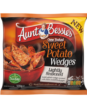 Aunt Bessie's Lightly Seasoned Sweet Potato Wedges
