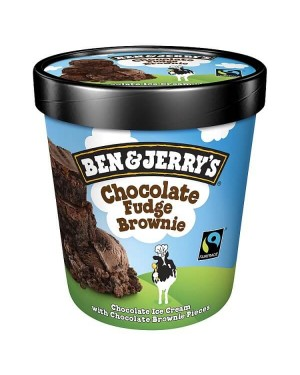M3 Distribution Ben & Jerrys Chocolate Fudge Brownie