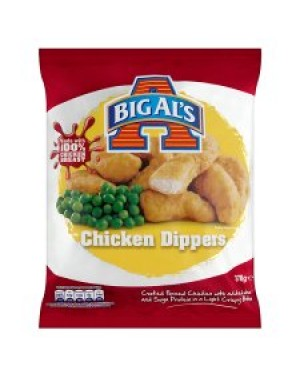 Big Al's Chicken Dippers 378g