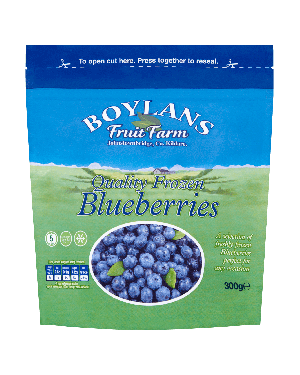 Boylans Quality Frozen Blueberries 500g Pouch