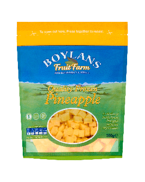Boylans Quality Frozen Pineapple 500g Pouch