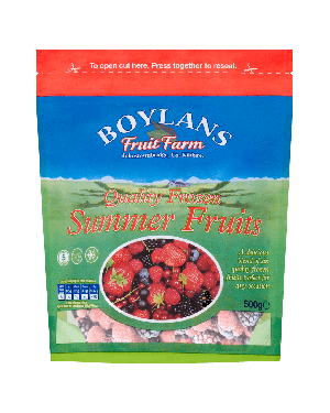 Boylans Quality Frozen Summer Fruits 500g Pouch