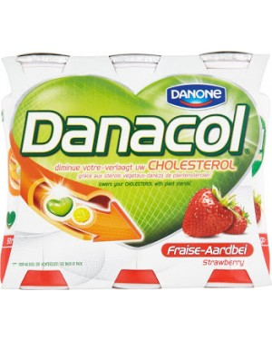 Danone Danacol Strawberry Reduced Cholesterol