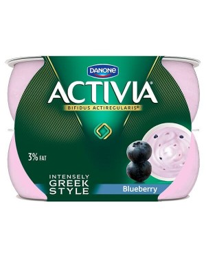 Danone Activia Intensely Creamy Blueberry Yogurt