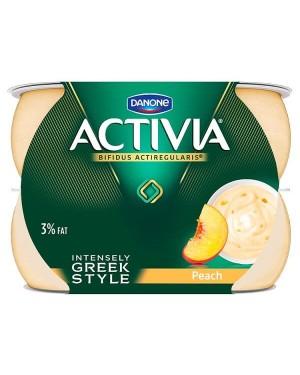 Danone Activia Intensely Creamy Peach Yogurt