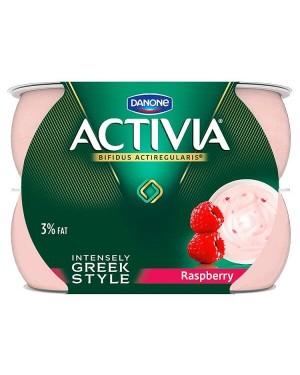 Danone Activia Intensely Creamy Raspberry Yogurt